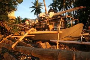 インドネシア報告(17) 写真レポート・「縄文号」完成 2009/1/25