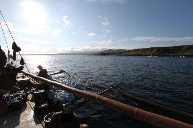 3番目の島、Calayan島に着いた。