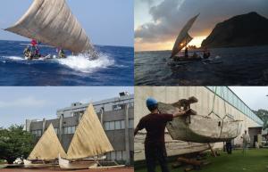 長い旅を続けた二隻のカヌー「縄文号」「パクール号」が植村直己冒険館に旅だった・2014年6月18日