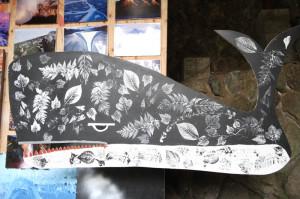 先週から始まった「国立奥多摩美術館~13日間のプレミアムな漂流展」に、「風獣土獣像」を展示しています。・2014年9月13日〜